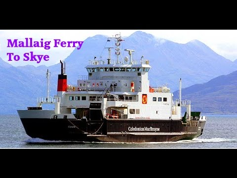 Mallaig Ferry to Skye - The Isle of Skye Ferry