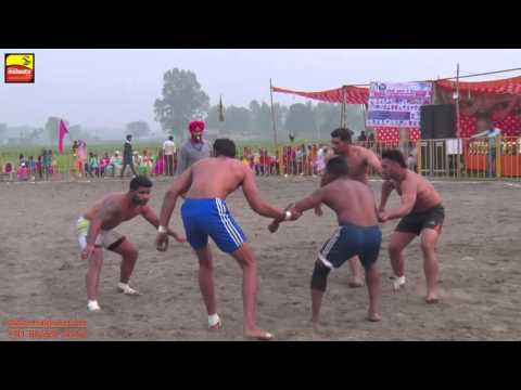 MADHO JHANDA (Kapurthala) || KABADDI CUP - 2015 || 4th. QUARTER FINAL || Full HD ||