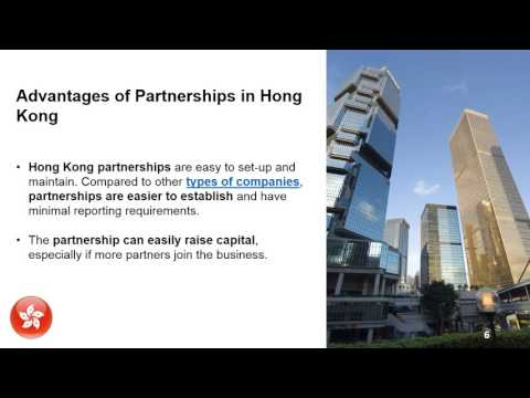 Establish a Partnership in Hong Kong