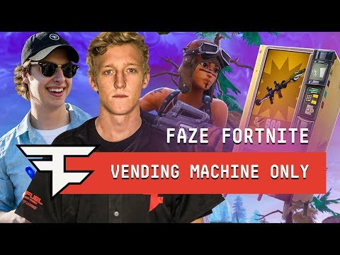 Winning With Vending Machines ONLY! - Fortnite: Battle Royale