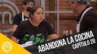 Vale abandona la cocina   MasterChef Chile 3   Capítulo 20
