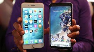 Pixel 2 XL vs. iPhone 8 Plus: ¿Es mejor el celular de Google que el de Apple?