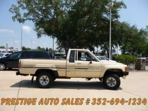 Toyota Pickup 4x4 2995 In Ocala Florida Youtube