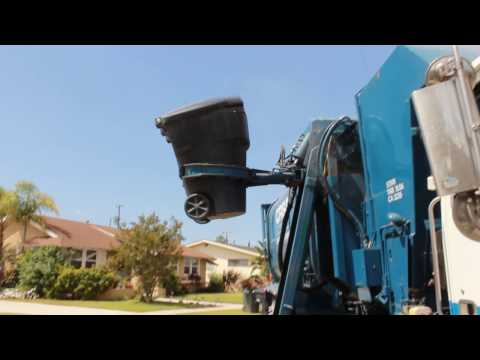 CR&R's Revving Ex-WM Amrep Garbage Truck