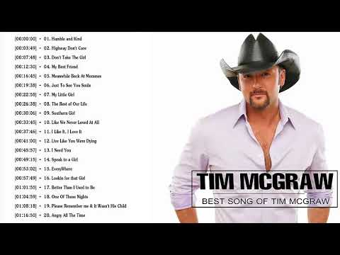 Tim McGraw Greatest Hits - Top 30 Bets Songs Of Tim McGraw Playlist 2018