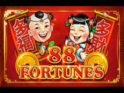 **JACKPOT HANDPAY** 88 Fortunes - AMAZING WIN
