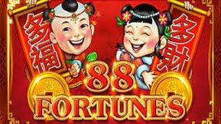 **JACKPOT HANDPAY** 88 Fortunes - AMAZING WIN