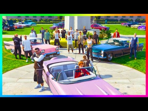 GTA ONLINE GANG WAR FREEMODE SPECIAL - JOINING A GANG, RARE GTA 5 GANG CARS, ULTIMATE WARFARE & MORE
