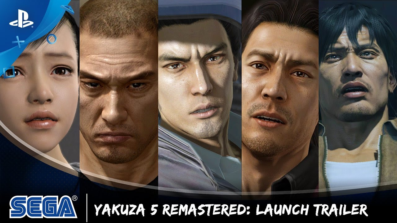 Yakuza 5 Remastered - Launch Trailer | PS4