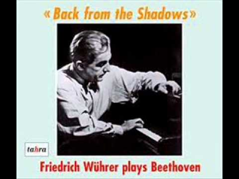Friedrich Wührer plays Schubert Sonata in G major D 894