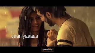 Dholna- Lyrical video (tere bin nahi lagda dil mera) Rahul Makhija | Lyrics