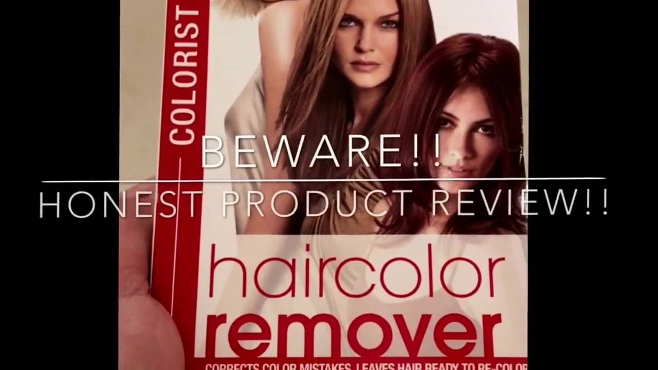 Inspirational Best Hair Color Removers