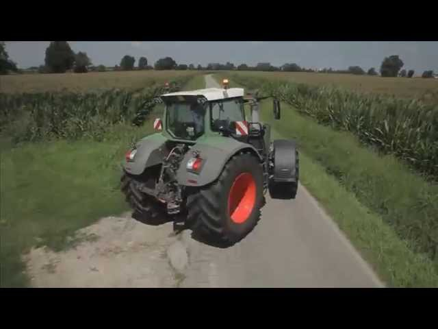 BKT Agrimax Force on the road