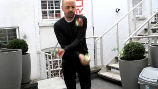 Solving 3 Rubik's Cubes in under 20 seconds whilst Juggling Mills Mess thumbnail