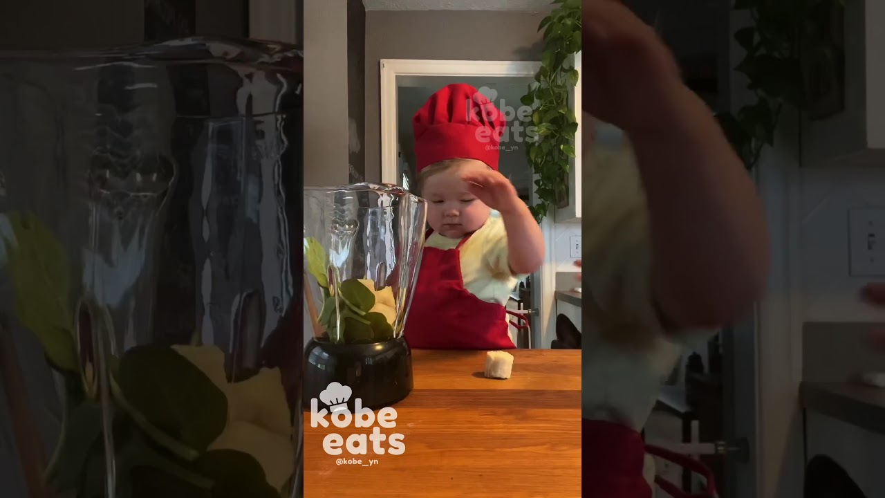 CHEF KOBE MAKES A MESSY SMOOTHIE
