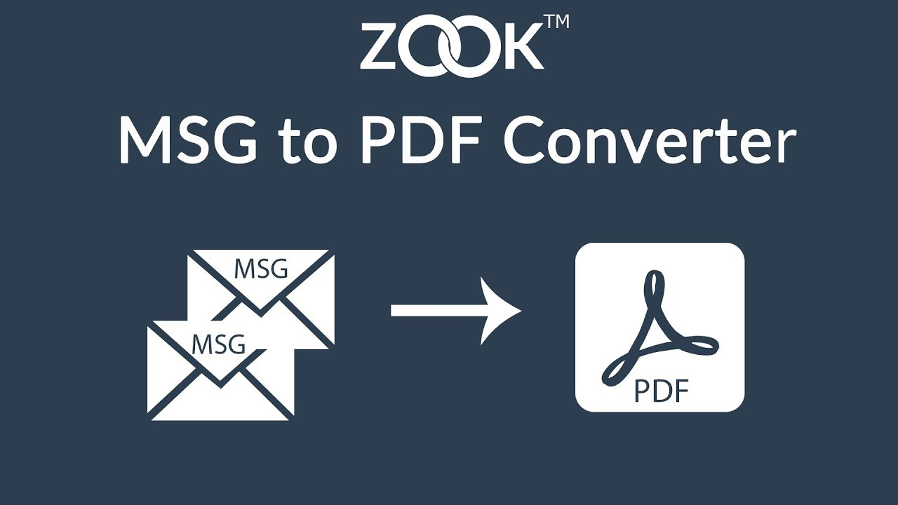 MSG to PDF Converter Tool to Batch Convert MSG Files to PDF