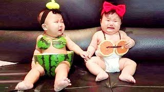 10 Minutes Funny With Twins Babies 🐣🐣 Adorable Baby Videos