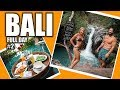 BALI SNAKES, MONKEYS, WATERFALLS, AND CLIFF JUMPING (FULL DAY #2)