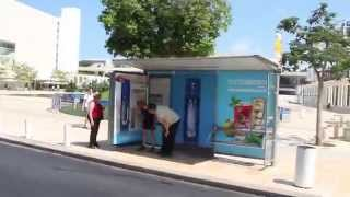 SodaStream sparkling bubble campaign   JCDecaux Israel