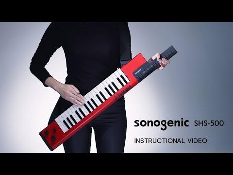sonogenic Keytar 「SHS-500」 INSTRUCTIONAL VIDEO