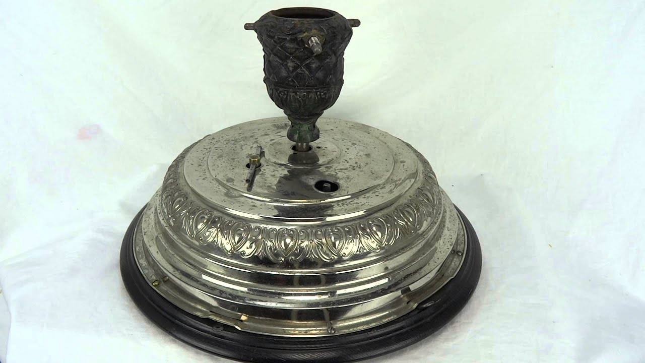 Antique German Musical Rotating Christmas Tree Stand - YouTube