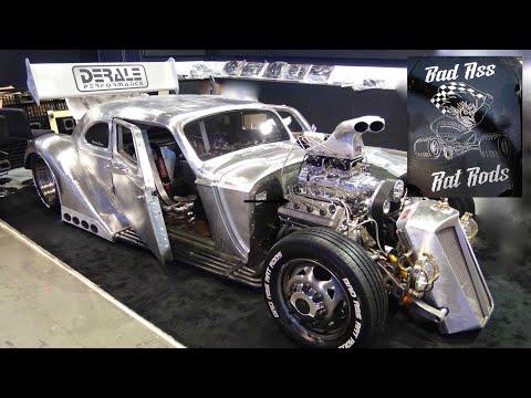 "1936 Packard ""International RATical Rod Champion"" Driven Into SEMA 2019"