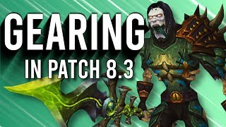 Get Gear Efficiently! All Gearing Methods Known For Patch 8.3 - WoW: Battle For Azeroth 8.2
