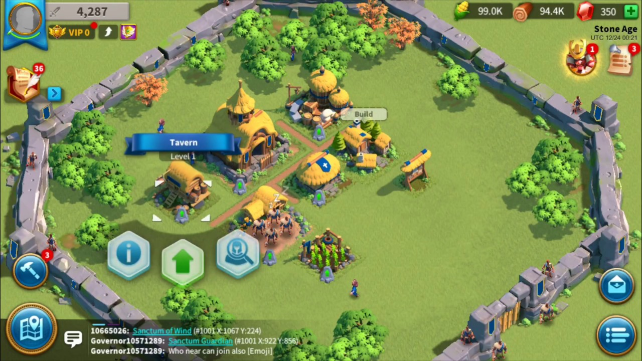 Rise of Kingdoms: Creating a Jumper Account Part 1: Starting Server