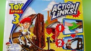 Toy Story 3 Jessie al Rescate Pista Acrobática - Juguetes de Disney
