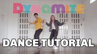 [Mirrored] BTS 'DYNAMITE' DANCE TUTORIAL | Step by Step ID