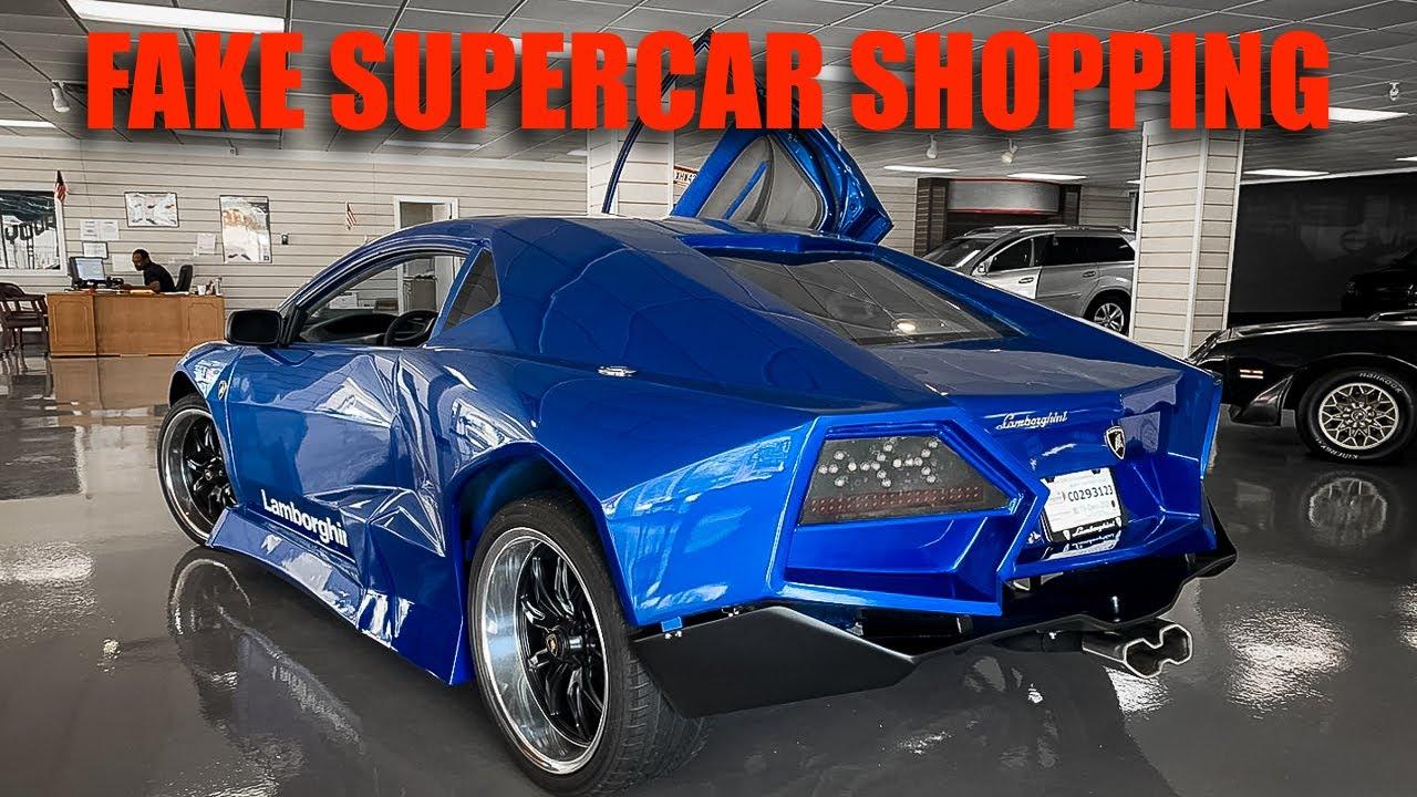 Fake Supercar Shopping Gone Terribly Wrong