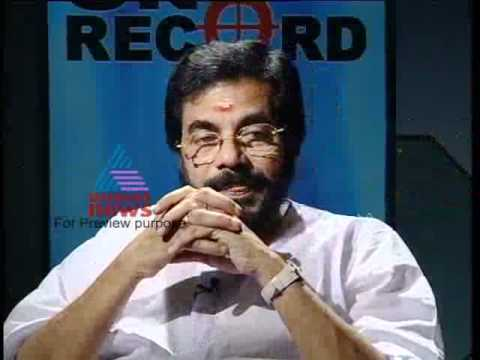 In Memory of MG Radhakrishnan- On Record Archives Part 2