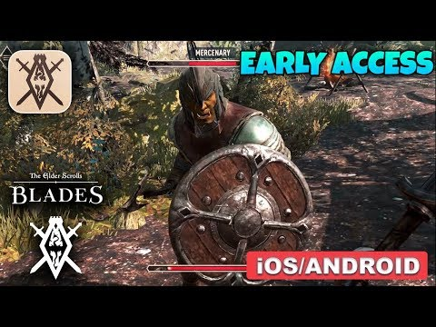 THE ELDER SCROLLS BLADES - IOS / ANDROID GAMEPLAY (EARLY ACCESS)