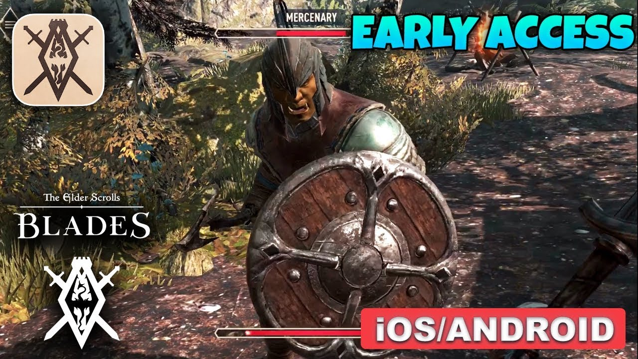 Get early access to Elder Scrolls: Blades on iOS and Android