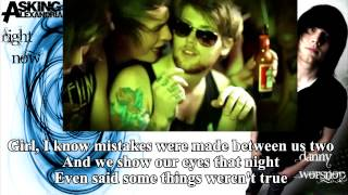 Asking Alexandria - Right Now (Na Na Na)  (Music Video & Lyrics on Screen)
