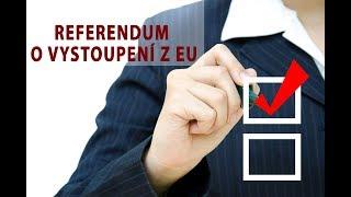 Tomio Okamura: Referendum o vystoupení z EU