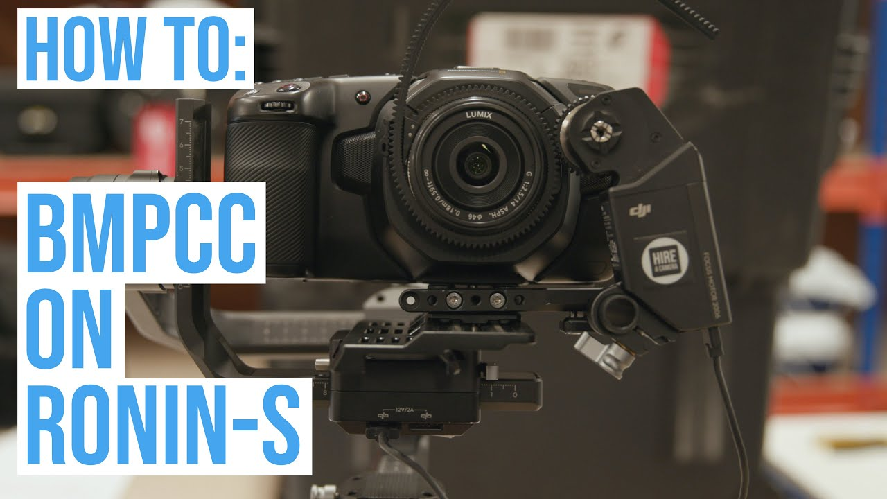 Mount Blackmagic Pocket 4k Or 6k On Dji Ronin S With Follow Focus Youtube
