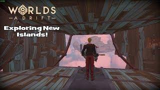 Worlds Adrift Ep. 2 - Exploring New Islands, and Unlocking Engines!