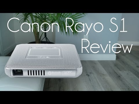 Canon RAYO S1 DLP Pico Projector Review