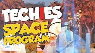 DotA 2 - Techies Space Program Funny Moments! + Arcana & Monthly Giveaway