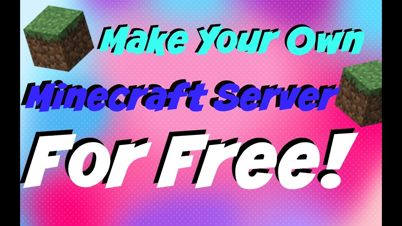 how to make a mcpe server