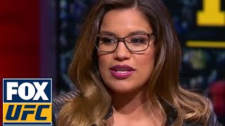 Julianna Pena drops by UFC Tonight to discuss the new addition to her family | UFC TONIGHT