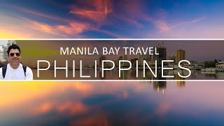 Manila Bay in Philippines & Mall of Asia in Manila (Asia