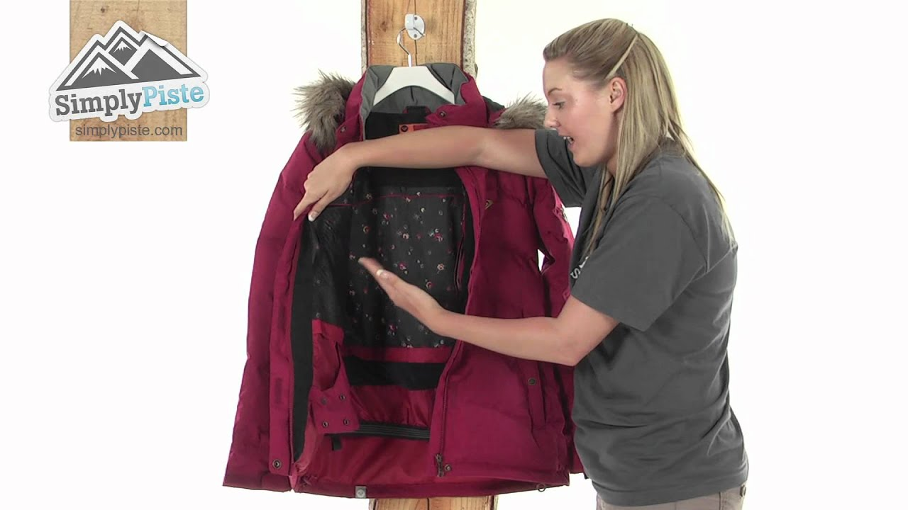 Roxy Womens Tundra Jacket - www.simplypiste.com - YouTube 66778d4cdf