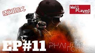 Phantom Forces (Roblox) Ep11 w/ Air Val
