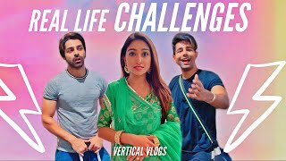 Real Life Challenges | Rimorav Vlogs