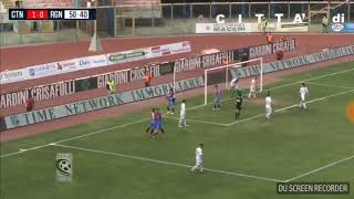 Catania reggina 2-1 gol 2 0 curiale