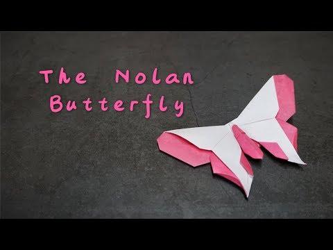 Origami Tutorial: The Nolan Butterfly (Michael G. LaFosse)|Hello Malinda
