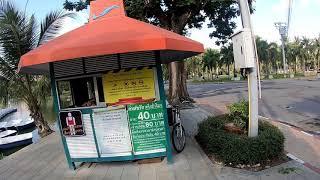 Walking in Bangkok, Thailand   Si Lom Road, Lumphini Park Series Part 11