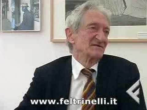 Inge Feltrinelli ed Edoardo Sanguineti: